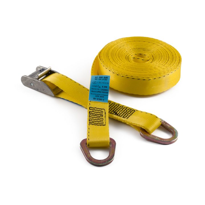 CB25d - 25mm 400kgs Cam Buckle Strap with Delta Rings