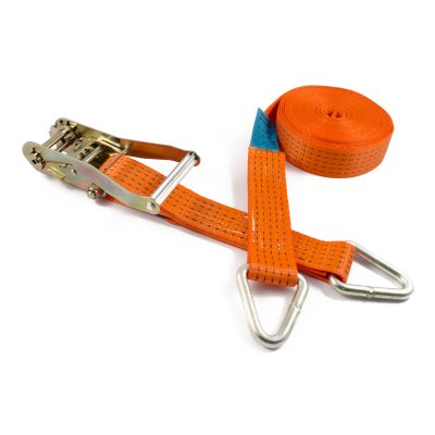RL50DW - 50mm 5000kgs Ratchet Strap with claw hooks