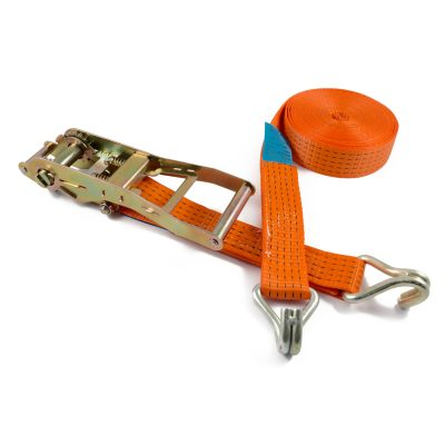 RL50H LH-ERG - 50mm 5000kgs Ratchet Strap wire claw hooks