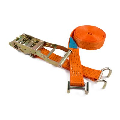 RL50HDRB LH-ERG - 50mm 5000kgs Ratchet Strap with rave hooks
