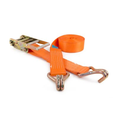 RL75H - 75mm 10000kgs Ratchet Straps with wire claw hooks