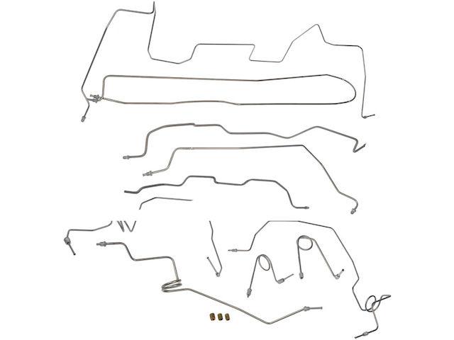 Brake Hydraulic Line Kit For 1995-1998 GMC K1500 GAS 1996