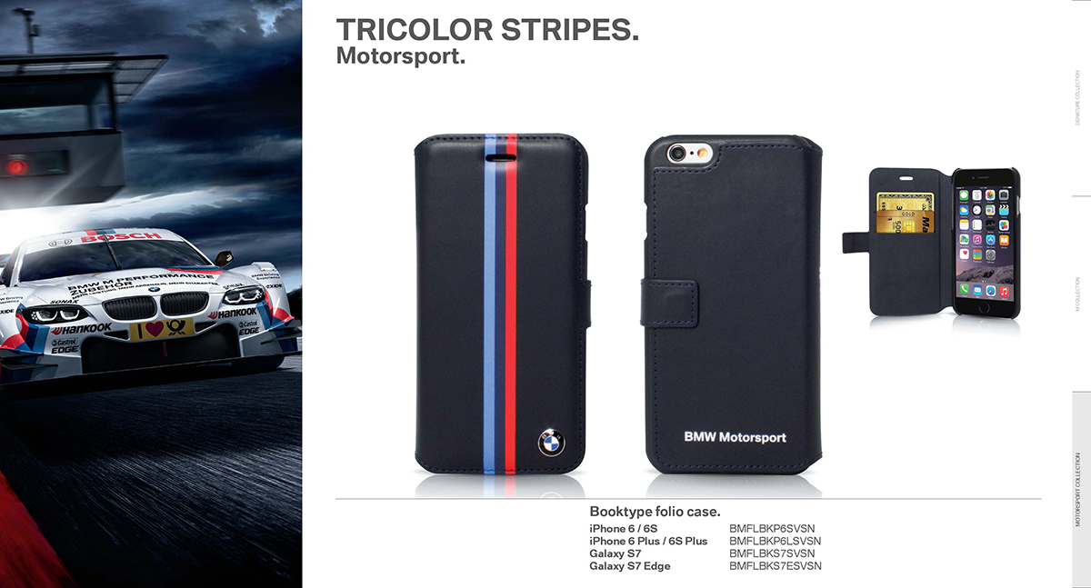 BMW 2016 motorsport collection pu leather 2