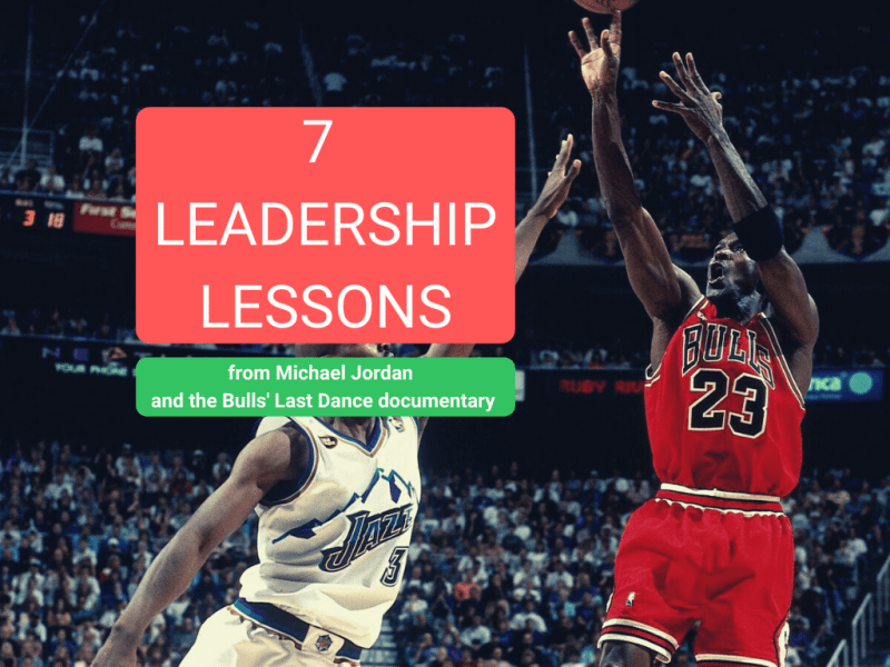 Leadership lessons from Michael Jordan