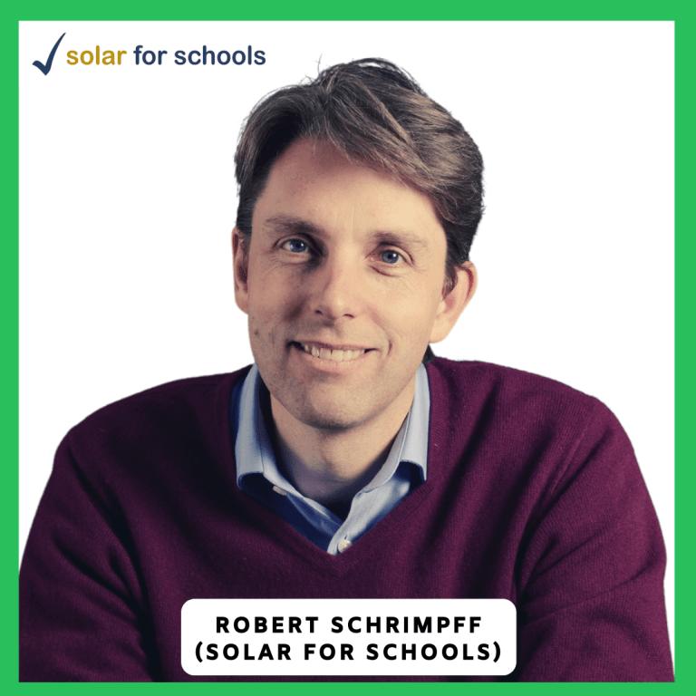 Robert Schrimpff Solar for schools logo