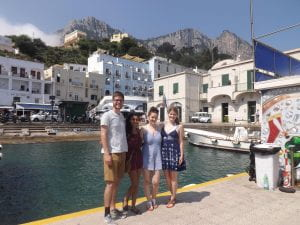 In Capri