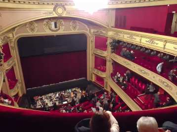 The Metz Opera performance hall