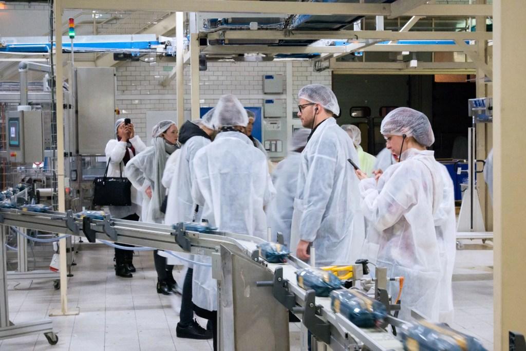 usine de fabrication des pâtes d'Alsace Grand'Mère