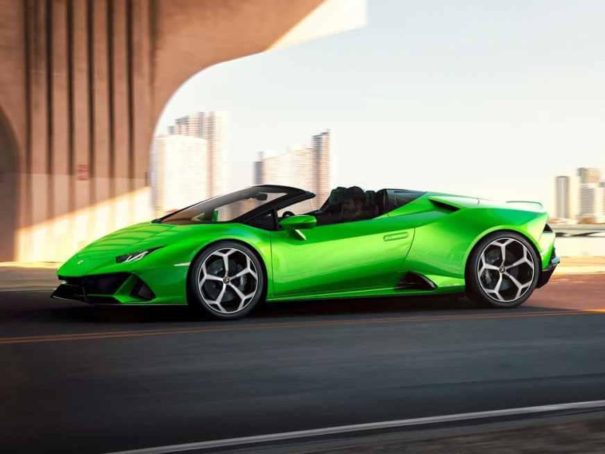 Rent Lamborghini Huracán EVO Spyder ⋆ Rent luxury cars