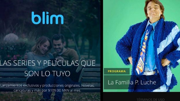 Blim, el nuevo servicio de streaming