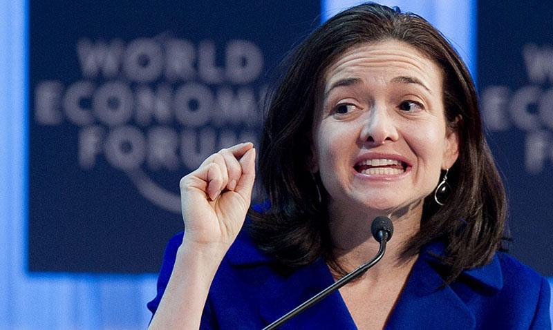 COO de Facebook Sheryl Sandberg