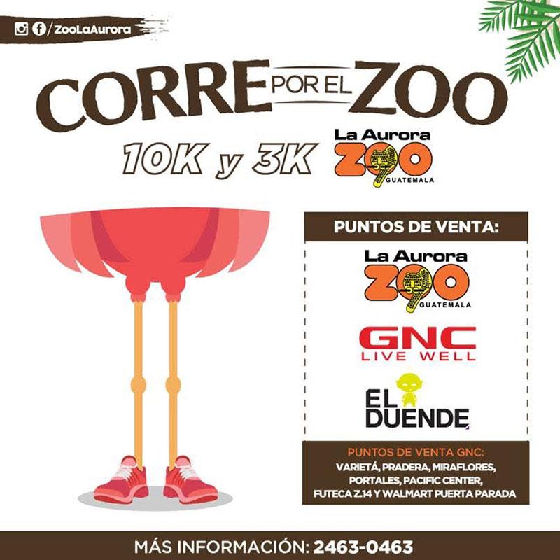 Corre por el Zoo La Aurora