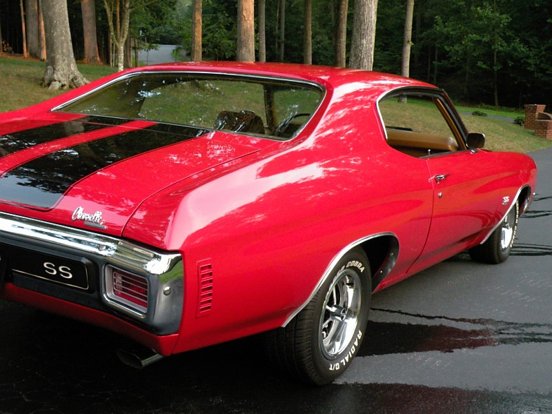 1970 Chevelle Ss  Muscle Cars For Sale