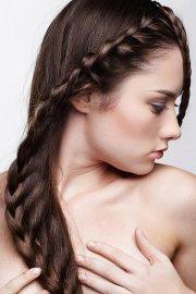 cute braided hairstyles straight