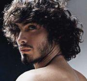 long hairstyles men - heavy