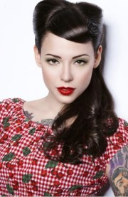 rockabilly hairstyle 1940s - latest
