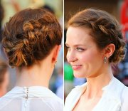 stylish bridesmaid hairstyles