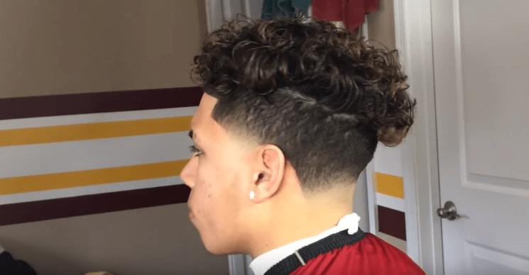 Ronnie Banks Taper Fade Cut 1 Latest Hair Styles Cute