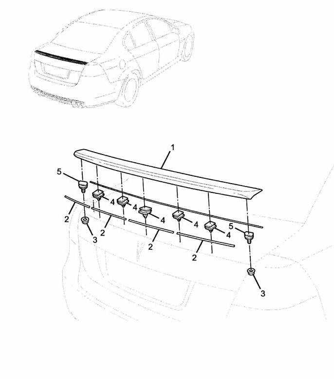 08-09 Pontiac G8 Rear Lip Spoiler Kit GM: GTOG8TA.COM