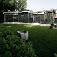 Exhibit site Natural Recall - Serra dei Giardini di Venezia