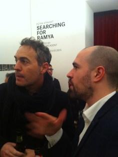 Cristiano Guerri e Saul Marcadent