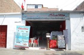 La chelita where I had my first ceviche 1 year ago