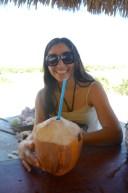 Leyda with coco