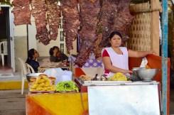 Pimentel, street stall