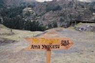 Chavin archeological site