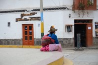A lady waiting for the party - Chavin