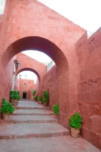 Stiars at Convent Santa Catalina, Arequipa