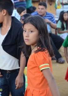 Lamas girl, surroundings of Tarapoto