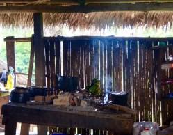 Kitchen at San Miguel village, Loreto