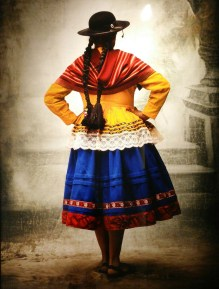 Foto de Testino sur la mode peruvienne