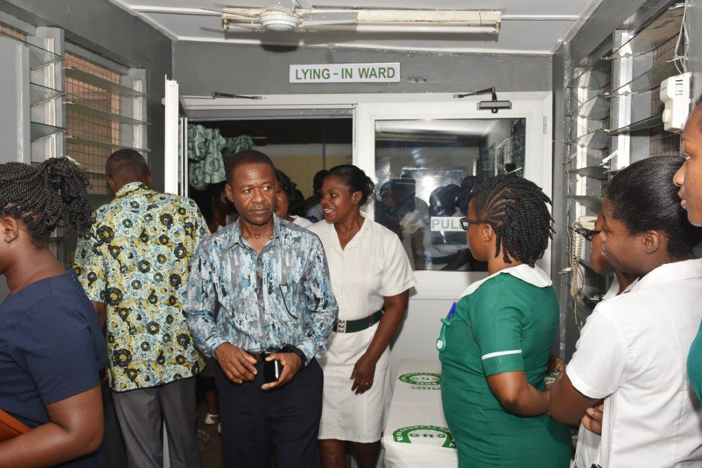 Tema General Hospital maternity ward refurbished – GTP
