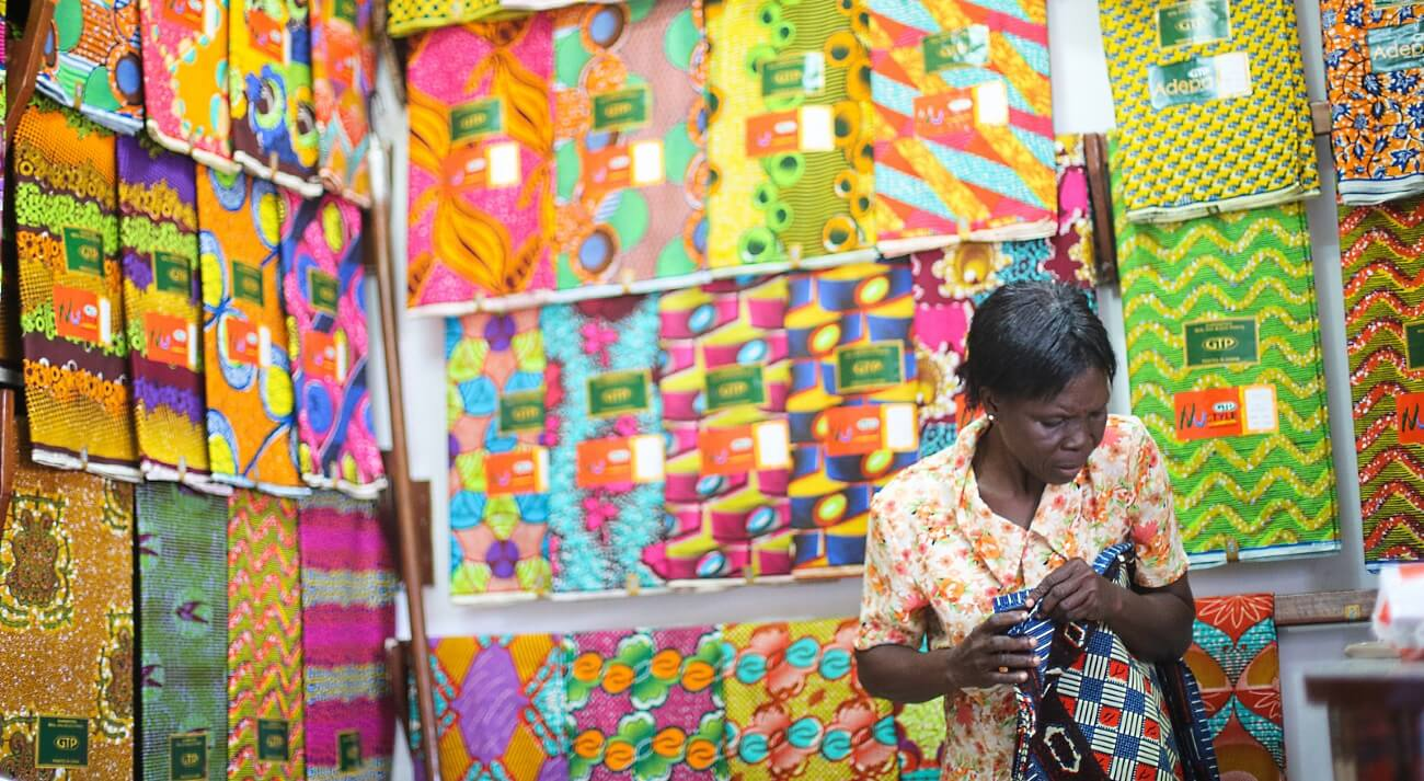 THE GHANAIAN IDENTITY IN PRINT