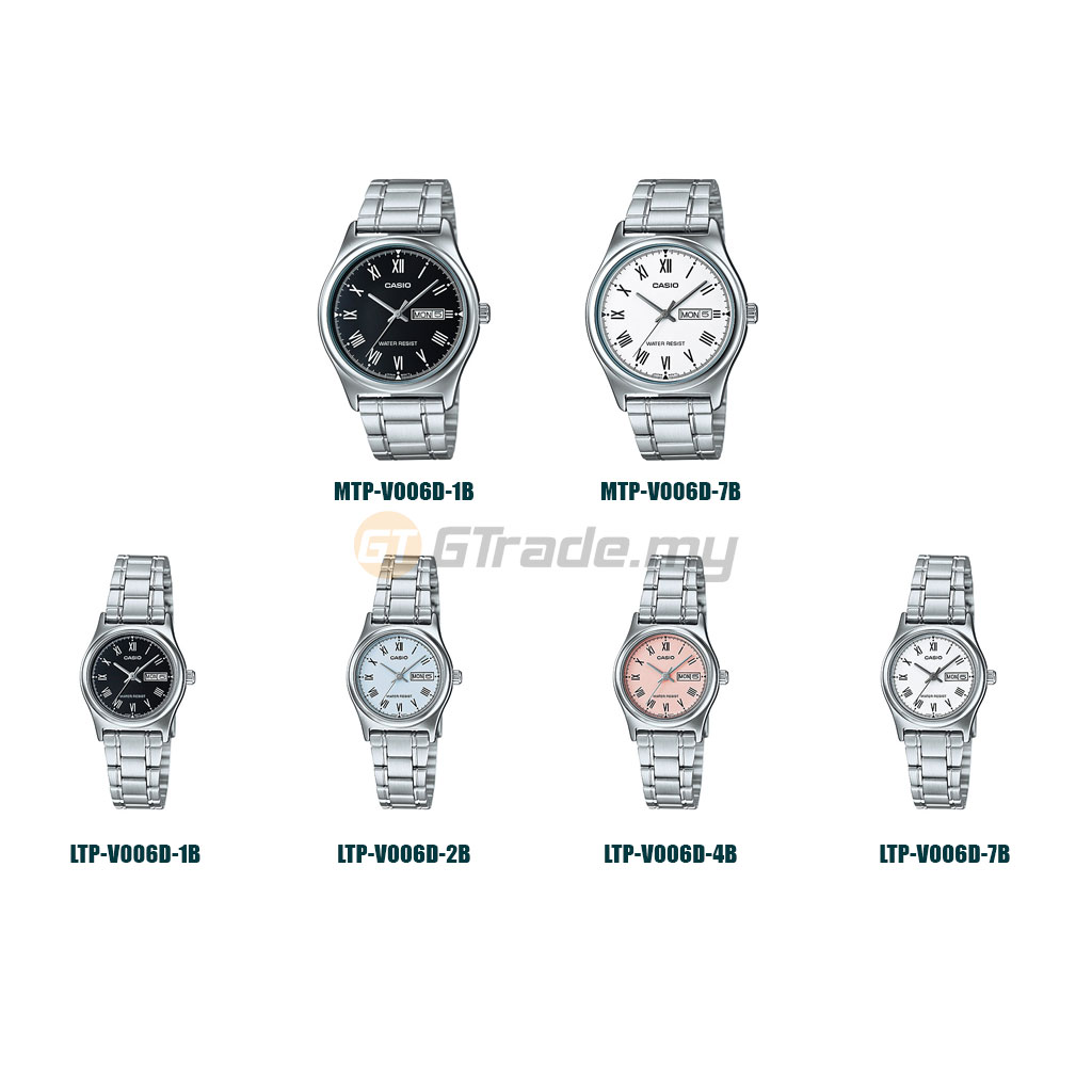 CASIO MEN WOMEN COUPLE WATCH JAM CASIO PASANGAN ORIGINAL