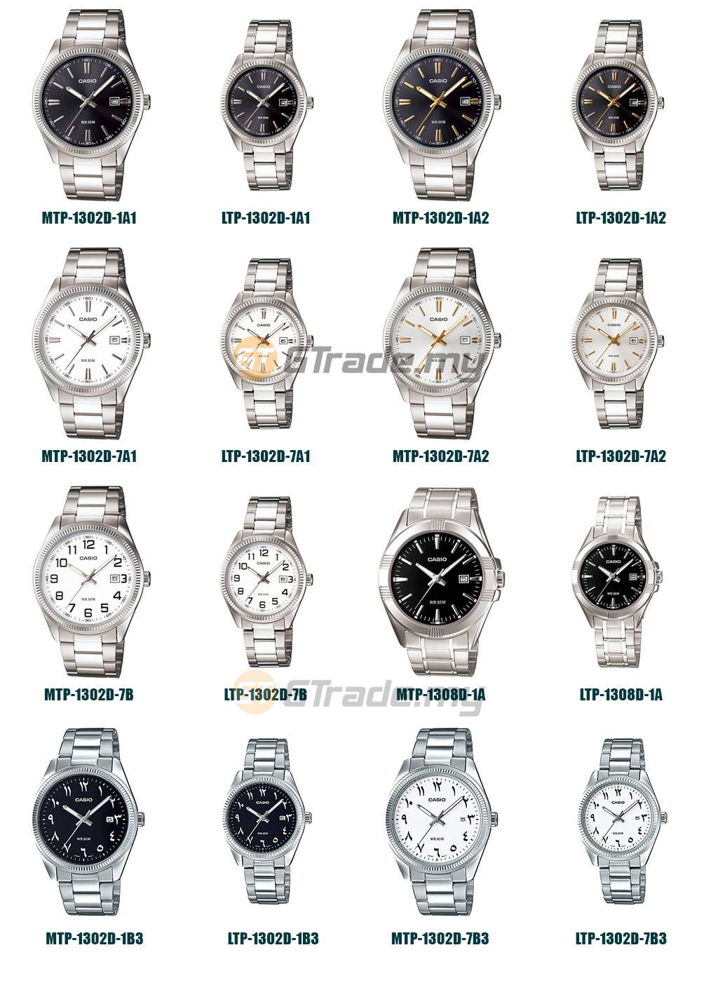 CASIO Men Women Couple Watch Jam Ca (end 5/11/2021 12:00 AM)