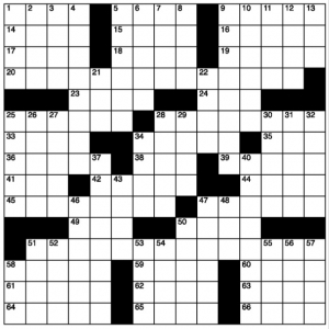 Mid September Crossword Puzzle & Answers