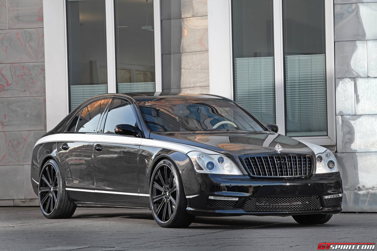 "Maybach 57s ""sir Maybach"" By Knight Luxury Inc  Gtspirit"
