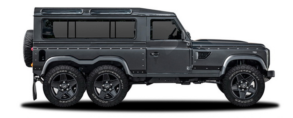 Kahn Design Previews Land Rover Defender 6x6 for Geneva