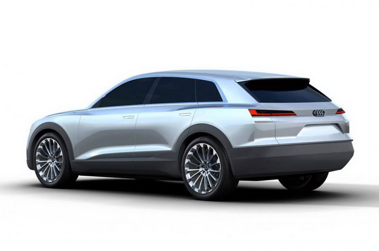 hight resolution of audi c bev concept leaked before frankfurt 2015 rear