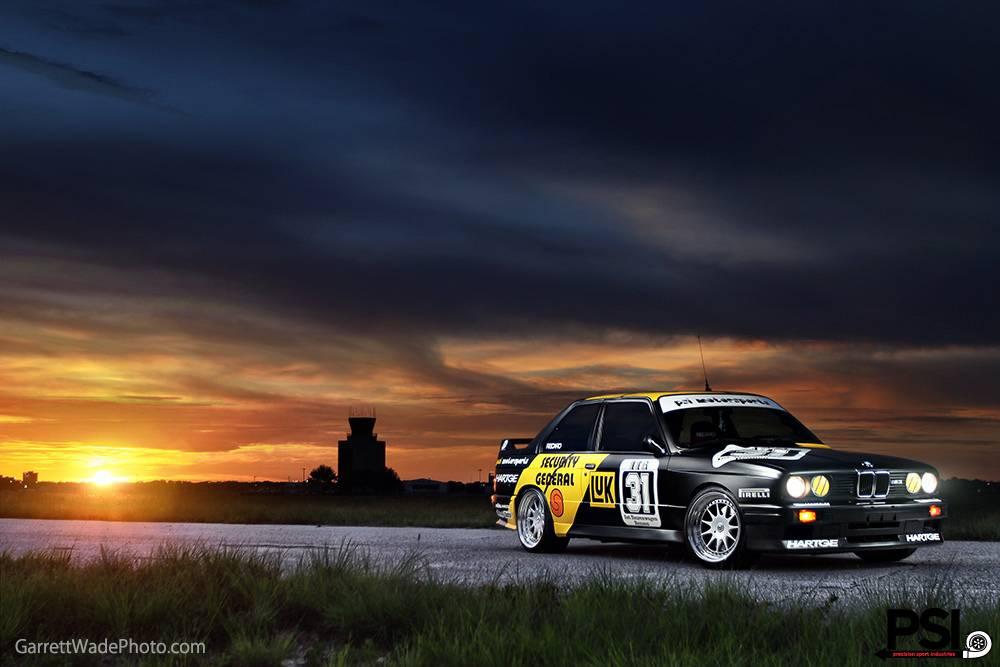 Matte Black Luxury Car Wallpaper Matte Black Bmw E30 M3 Dtm Replica By Psi Gtspirit