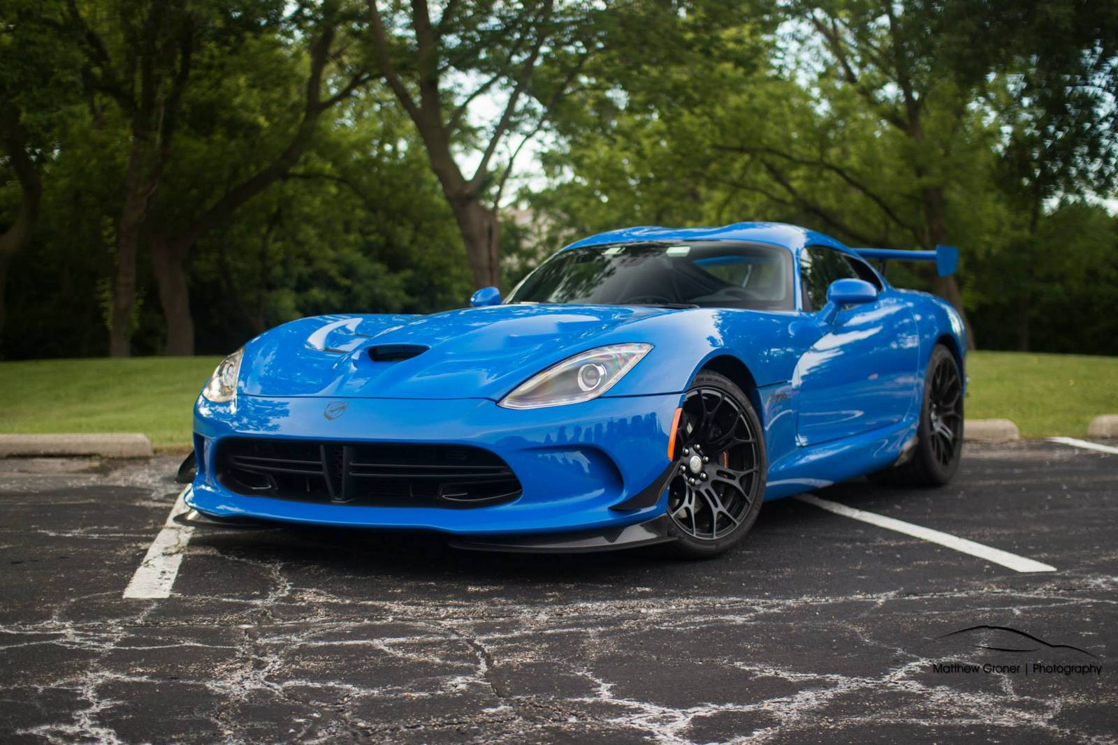 Blue Dodge Viper Ta 20 Photoshoot Gtspirit