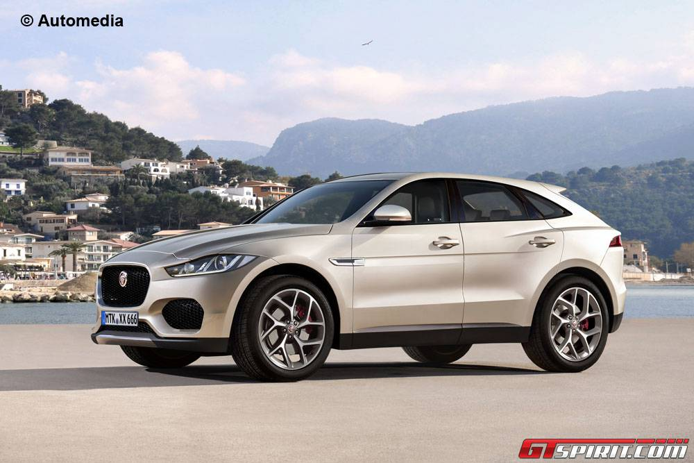Baby Jaguar Epace Suv Rendered  Gtspirit