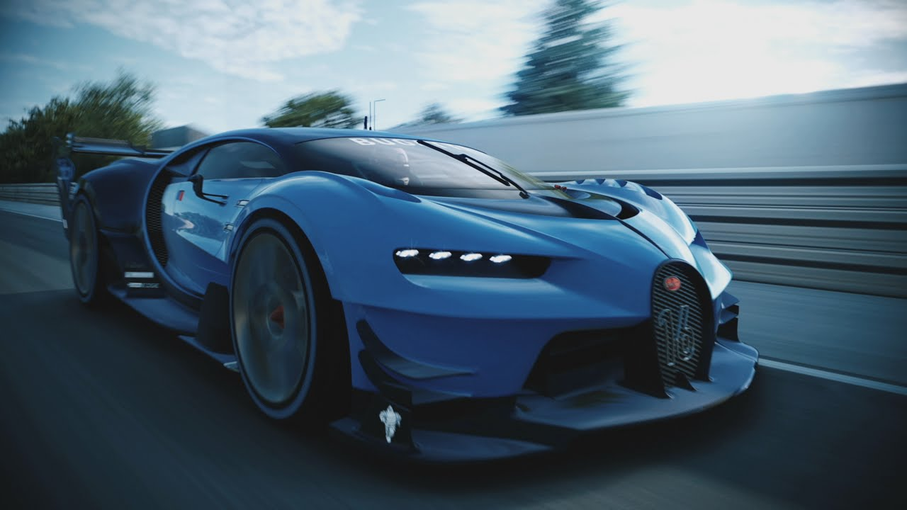 Asphalt 8 Wallpaper Cars Video Watch The Bugatti Vision Gran Turismo In Action