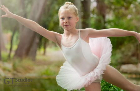 Dance is a favourite subject for GT Studios, and this little tween enjoyed her dance in the park.