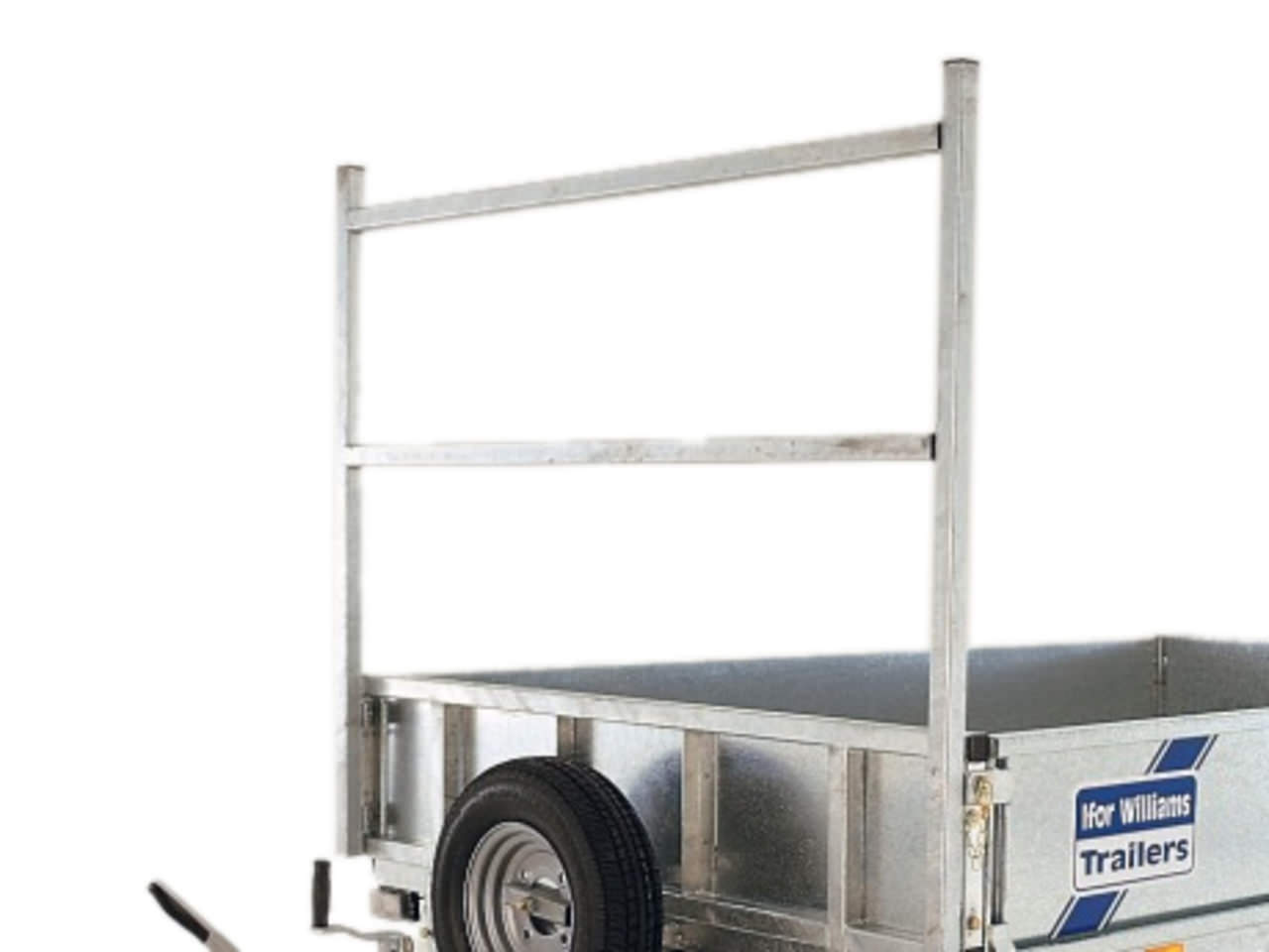 ifor williams 6ft 6 flatbed ladder rack kx8408