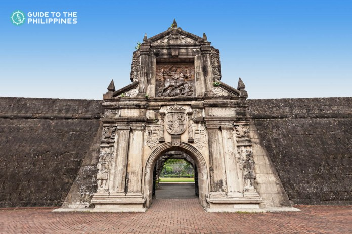 Fort Santiago is a national historical monument in Intramuros, Manila