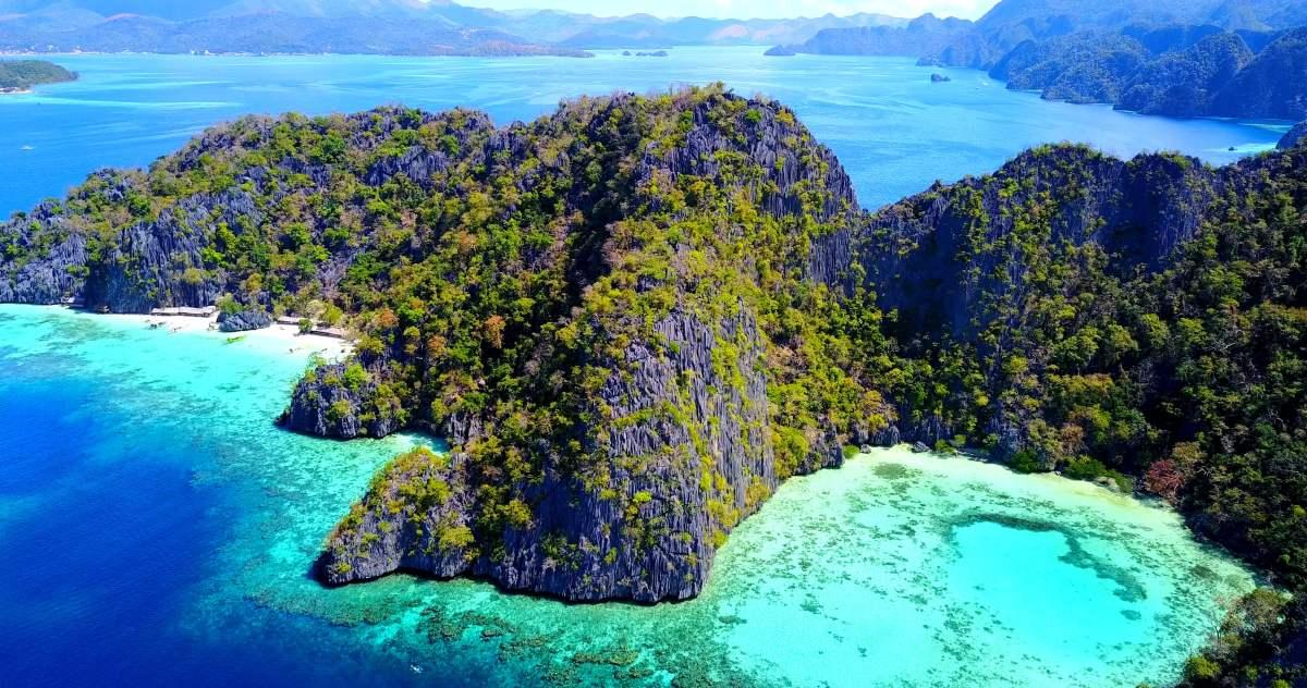 Palawan Coron Island Hopping Shared Tour B with Lunch & C...